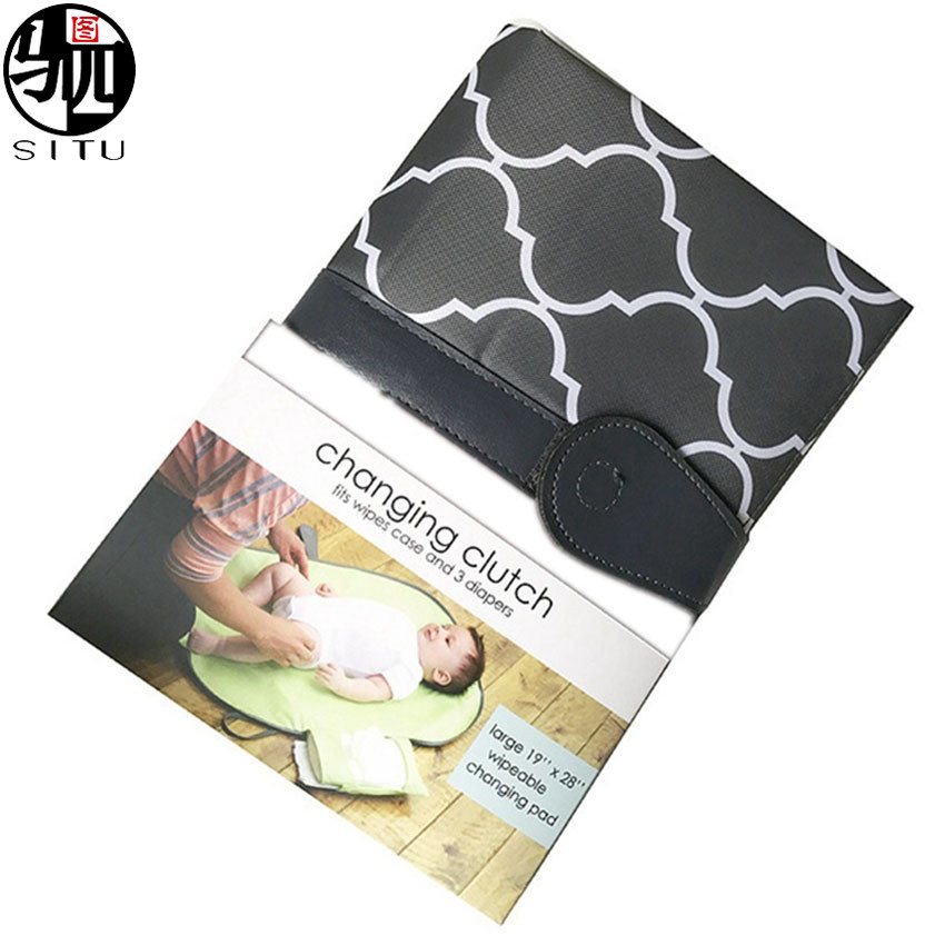Baby Changing Pad Portable Infant Diaper Bag Waterproof Storage Organizer Mat