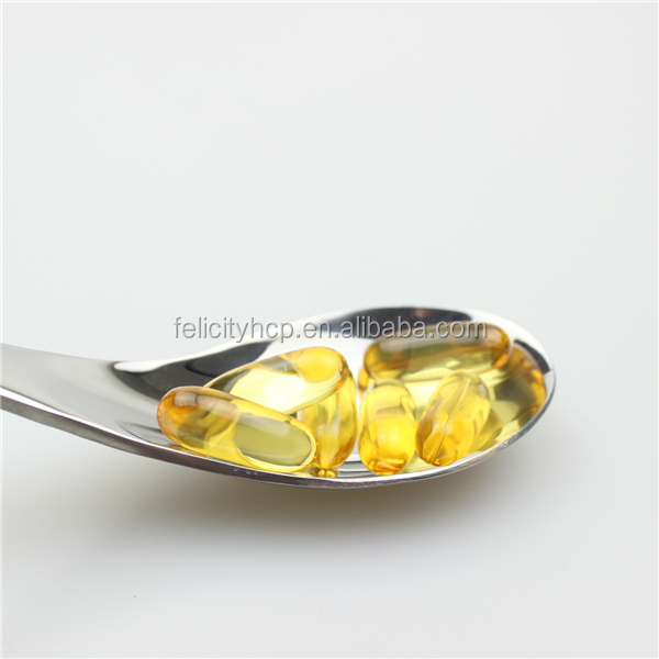 Dietary supplements Vitamin A and vitamin D cod liver oil capsules for children health