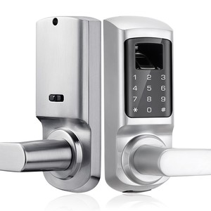 Digital Code Lock System for Hotel for Home Safety with low price waterproof biometric smart sliding digital door lock