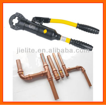 copper pipe crimping tool buy copper pipe fitting tools pipe fitting crimping tools hydraulic. Black Bedroom Furniture Sets. Home Design Ideas