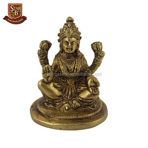 Hindu Indian resin goddess statue Lakshmi collectible figurines