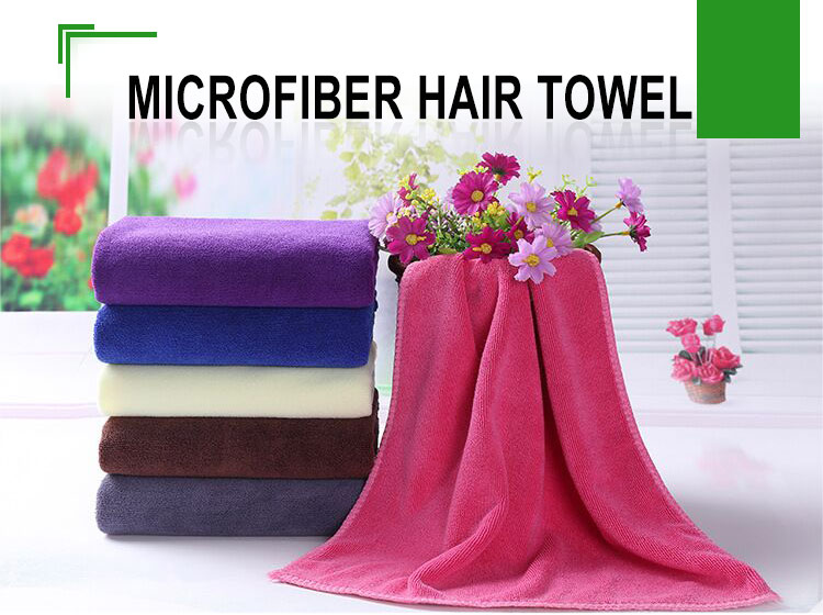 Superior quality microfiber hair turban towel