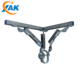XAK Professional OEM Support Anti-Seismic Bracing Supporting System Iron for Building Construction Material C Strut Channel