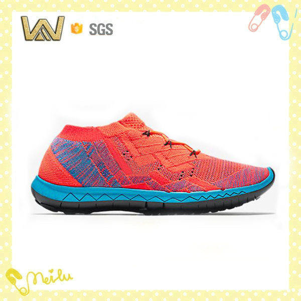 Mens knitted sock running shoes