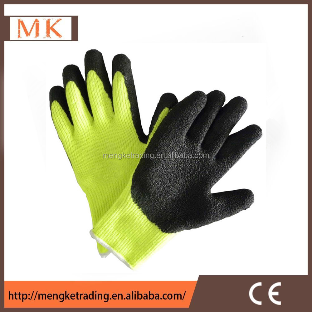 thick latex winter use gloves