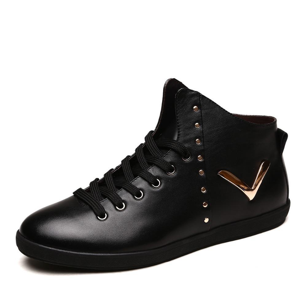 Genuine Leather warm waterproof men boots,comfortable