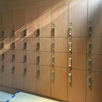 Debo super high quality HPL board use for VIP changing locker