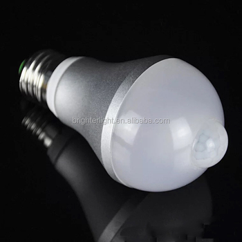 PIR Infrared Motion sensor LED bulb lamp light E27