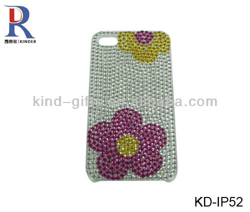 DIY Bling Czech Crystal Jeweled the Union Jack design mobile phone cases