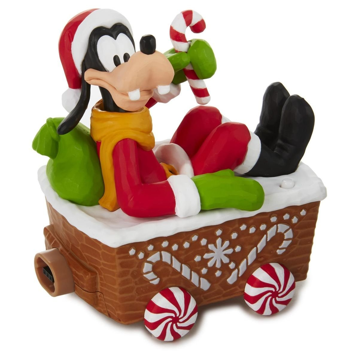 get quotations hallmark 2016 goofy disney christmas express wmusic motion - Disney Christmas Music