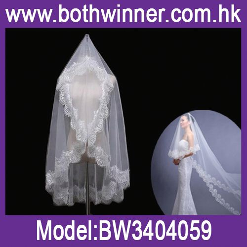 Bride veil weeding decoration h0t3u white veil for sale