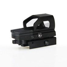 Holographic Sight HK2-0093 verde/red dot Olografico Reflex <span class=keywords><strong>Vista</strong></span> con sgancio rapido 21mm picatinny mount base 4 reticolo