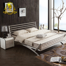 Add To Favorites 304 Stainless Steel Bed Bedroom Furniture