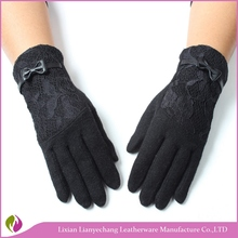 Manufacturer supply classic winter gloves plain colors touch screen gloves