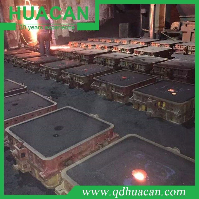 Horizontal Parting Flaskless Shooter Squeeze Casting And Foundry Molding  Production Line - Buy Automatic Production Line,Small Production Line  Product