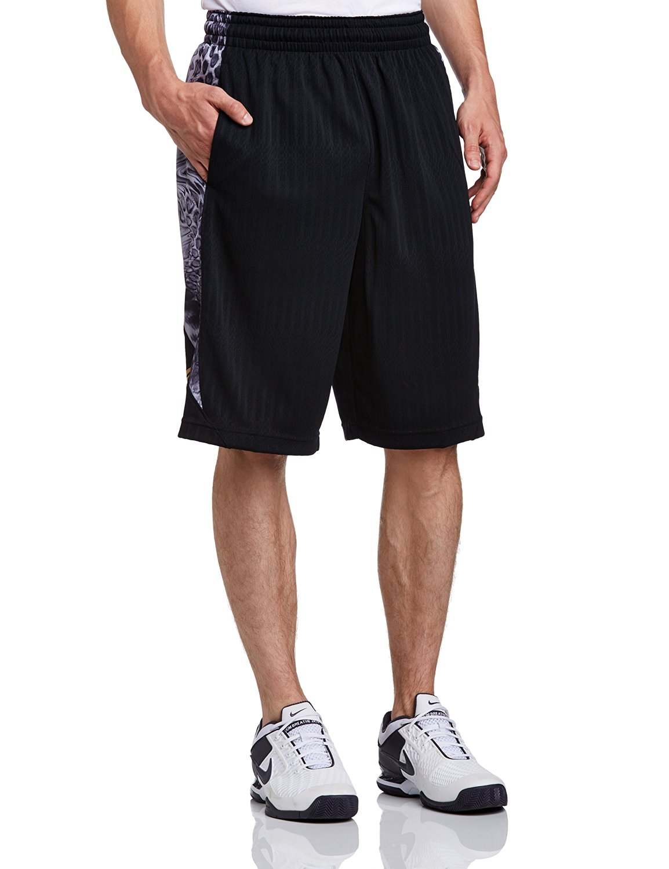 31b8a00d749 Get Quotations · Nike Kobe Obsess Dri Fit Basketball Shorts Black Grey Small