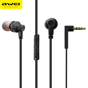 High Quality Stereo 3.5mm metal earphone with gift package