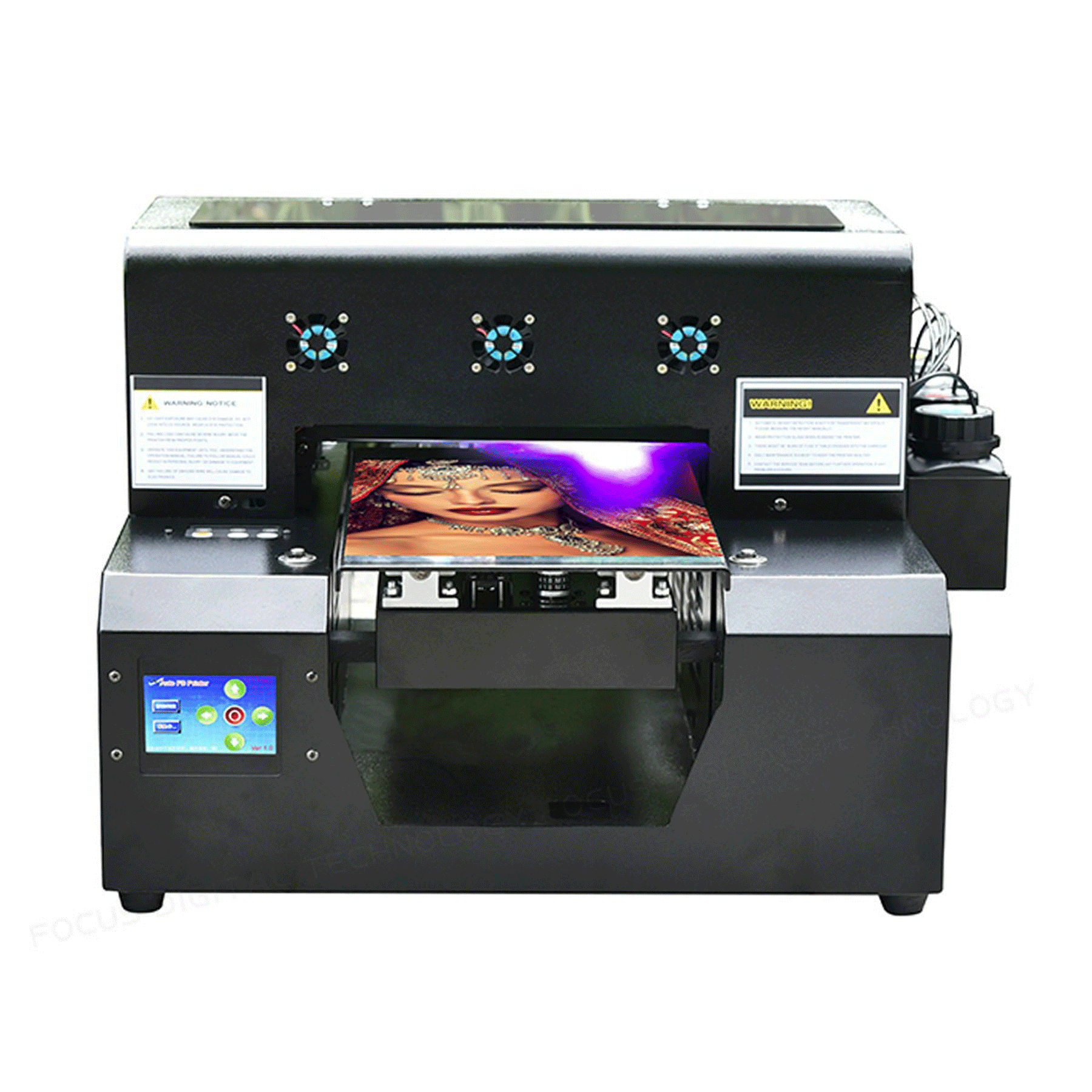 06ebb1d9c2 Portatile A4 stampante uv per la stampa diretta su vetro metallo plastica  legno cassa del telefono