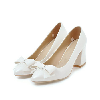 Customized Handmade White Bowtie Style