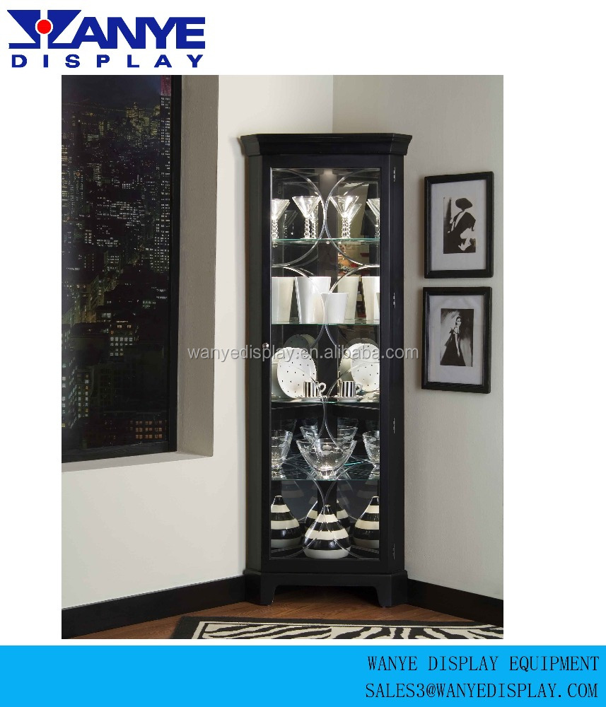 Retail Metal Floor Liquor Display Cabinet Product On