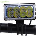 Walkefire 8 X XM L2 u2 LED Bicycle Light 9600LM 8xT6 LED Lamp Bike Light Lamp