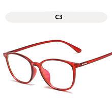 2018 настоящие круглые очки унисекс с эффектом памяти Tr90, ультра-светильник, компьютерные очки с защитой от синего излучения, очки с оправой, п...(Китай)