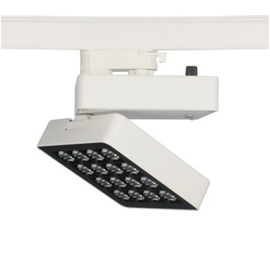 30w Square LED Track light Ra90 for Art Gallery Lighting LED Track Lighting 2700k 3000k 5000k