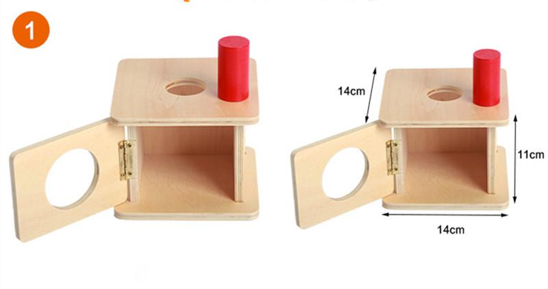 Juguete de los niños de la escuela montessori conjunto de muebles