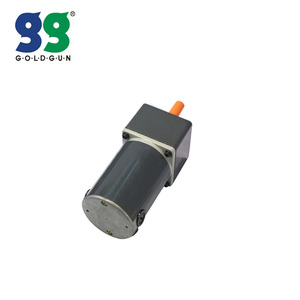 Goldgun high quality 12v 24v 90v dc gear motor with encoder G2D06-12