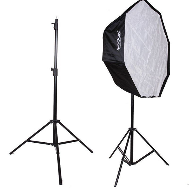 Godox SN303 2.8m Photo Studio Tripod Stand Lamp Holder