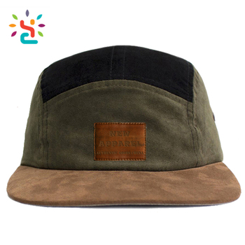 3dd04c0fb99311 Distressed dad cap suede hats two tone 5 panel cheap wholesale suede blank strap  back fitted