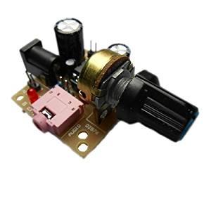 Amplifier Board - TOOGOO(R) 3V-12V LM386 Super MINI Amplifier Board DC Amplifier Amplifier Modules Speaker