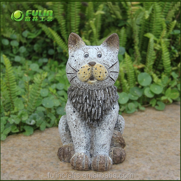 Outdoor MGO cat decoration