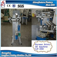 New Style Multifunction Cheap Semi Automatic Silk Cosmetic Plastic Glass Bottles Screen Printing Machine Prices For Sale