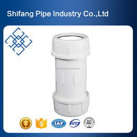 Supply PVC Pipe Fittings Quick Compression Coupling