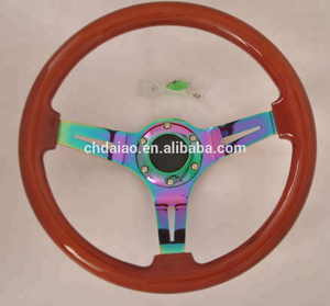 2018 New Neochrome Wood Grain Classic steering wheels(350MM/380MM)