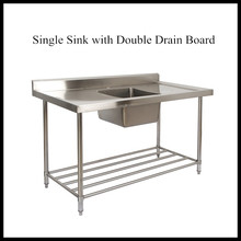 Double Drainer Single Bowl Sink, Double Drainer Single Bowl Sink Suppliers  And Manufacturers At Alibaba.com