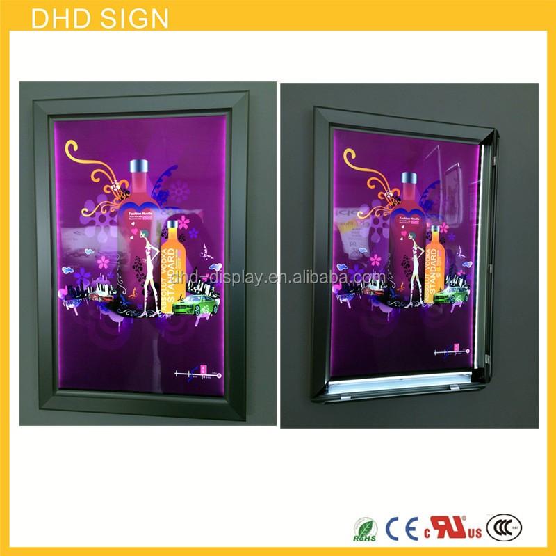 Snap On Picture Frames Backlit Signs Clip Frame Light Box - Buy Clip ...