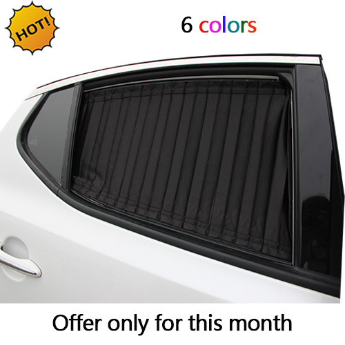 Car Window Curtain Cool Car Covers Universal Use 6colors