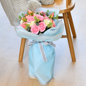 Tissue Wrapping Paper Flowers Packaging Gift Wrapping Paper Valentine's Day Bouquet Material Romance Wedding Decoration Paper