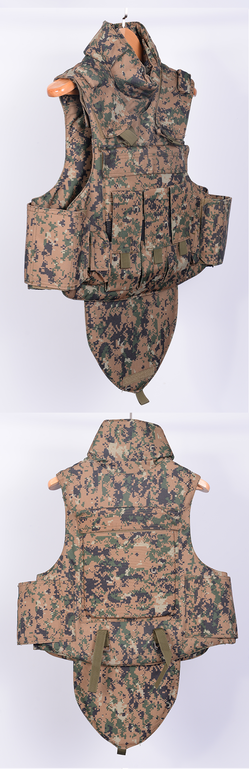 Wholesale Body Army Plate Carrier combat protective camo military bulletproof vest level 4 army green bullet proof vest