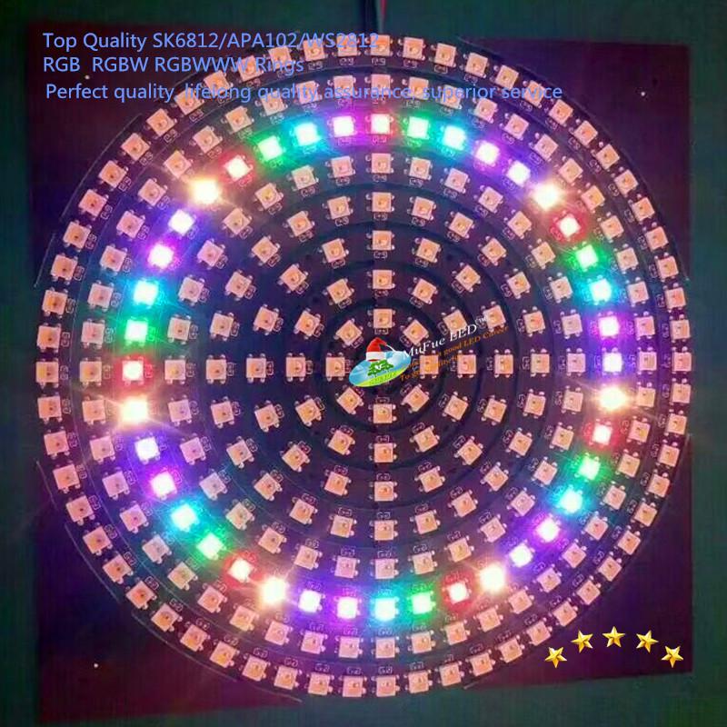 LED Pixel Ring addressable rgb rgbw rgbww led WS2812B ws2813 sk6812 NEON PIXEL RING