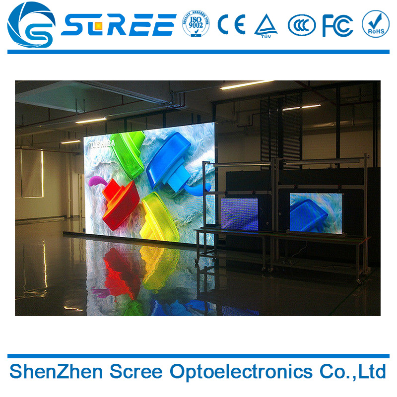 2017 new design P6 full color led screen 10ft x 12ft for stage with good quality