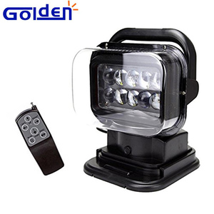 12v 24v 50w magnet mount automotive truck work lamp hid led offroad lights with Remote Control
