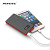 Pineng portable li-polymer usb chargers 10000mah Mobile power bank supply