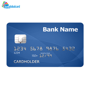 High performance bank card size blank ATM ic card with low cost