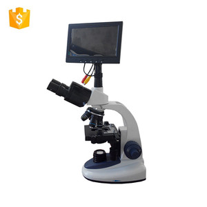 C206-THD9 USB Digital LCD screen Microscope LED Binocular Light Microscope