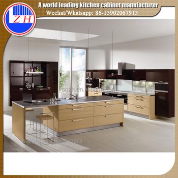 ZH Modular DIY Custom Kitchen Cabinet Furniture Manufacturer In China