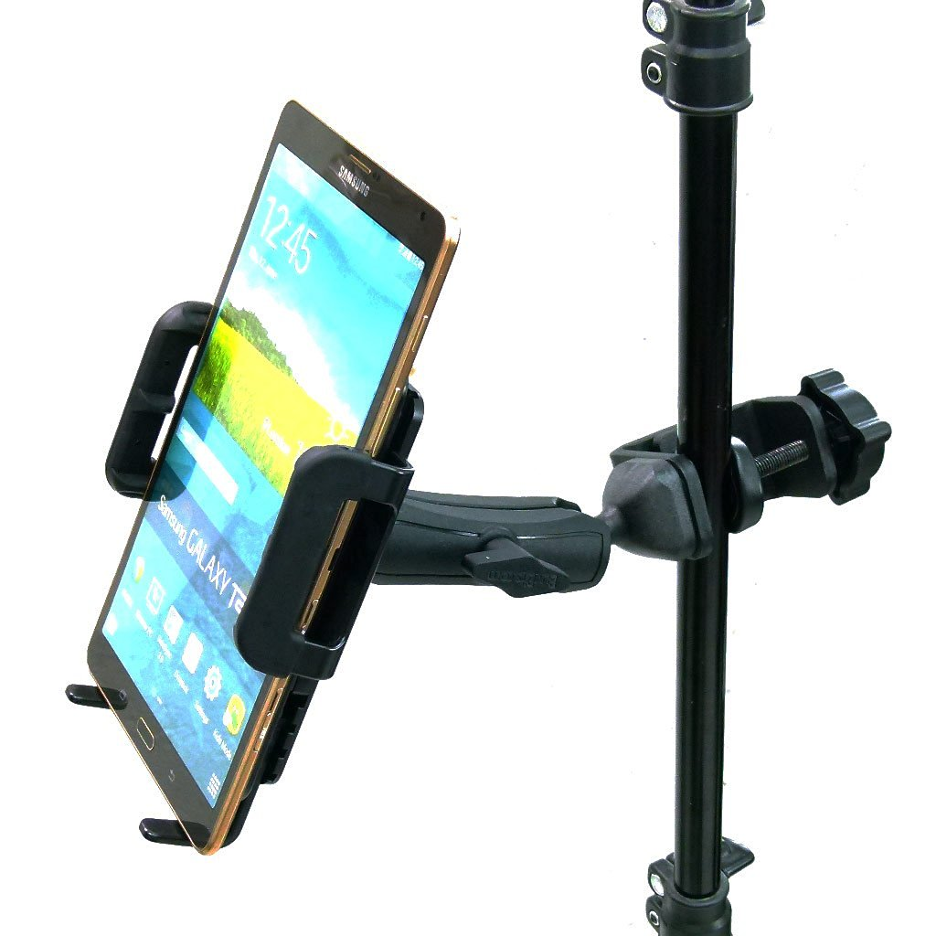 BuyBits Heavy Duty Adjustable C-Clamp Music Stand / Counter Top Mount for Samsung Galaxy Tab 3 (8)