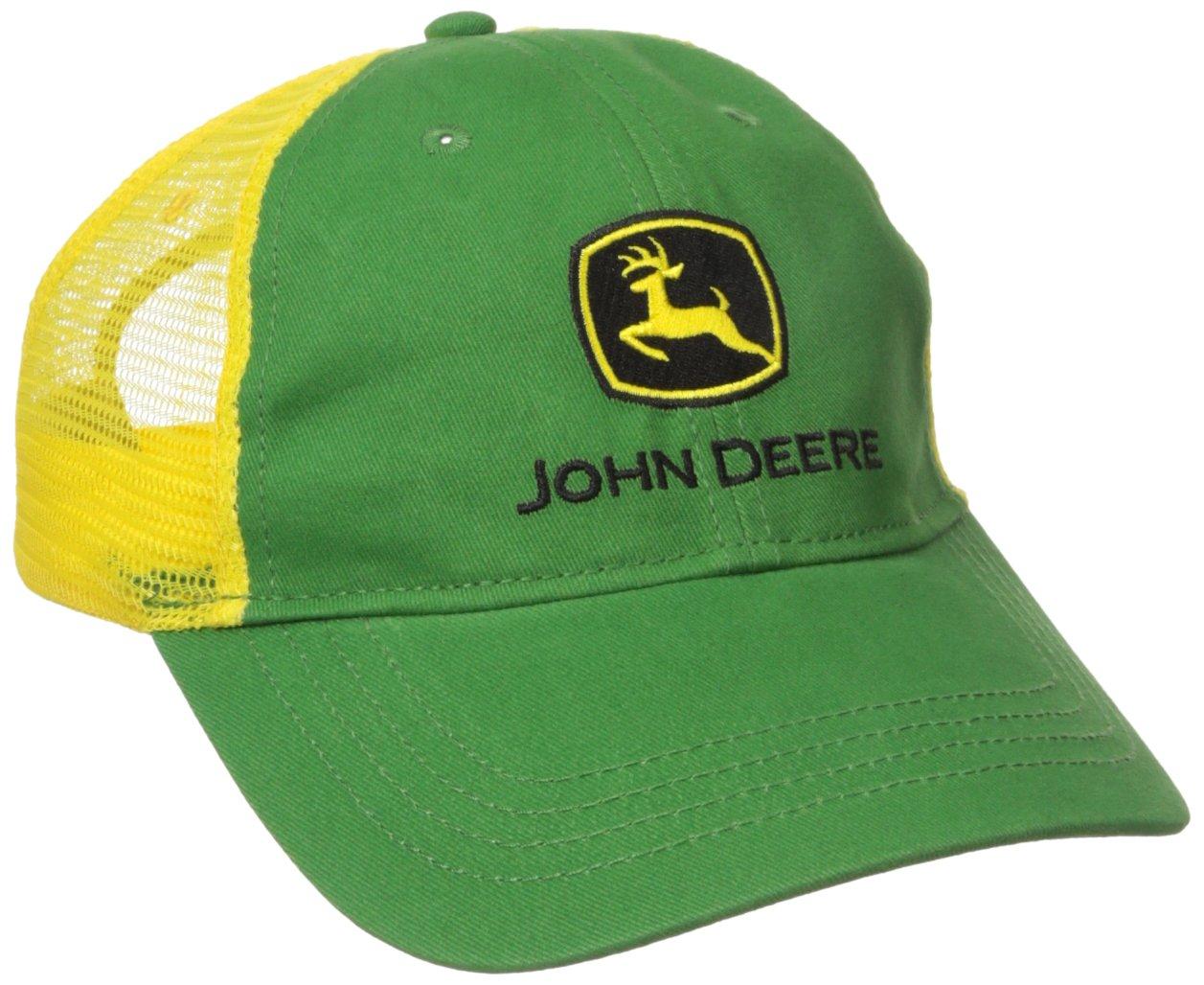 Get Quotations · John Deere Boys  Trademark Trucker Ball Cap 90b10d0efaaa